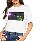 Photo de I See Stars T-shirt à manches courtes pour femme Blanc - - L