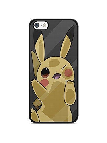 Schutzhülle für iPhone 4/4S, Pokemon Go Team Pokedex Pikachu Manga Valor Mystic Instinct Case