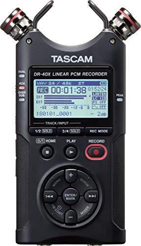 Tascam DR-40X Tragbarer 4-Track Bild