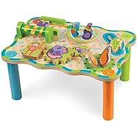 Melissa & Doug First Play Children's Jungle Wooden Activity Table