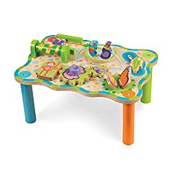 Melissa & Doug First Play Jungle Wooden Activity Table