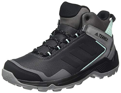 adidas Terrex EASTRAIL Mid GTX W, Scarpe da Trekking Donna, Grey Four f17/core Black/Clear Mint, 36 2/3 EU