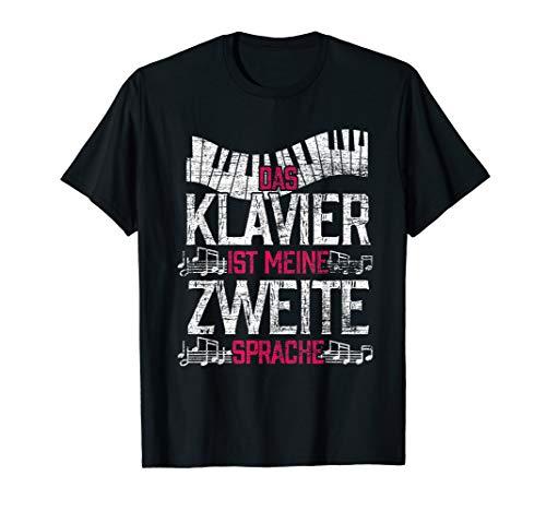 Pianist Geschenk klassische Musik Lustiger Spruch Klavier T-Shirt
