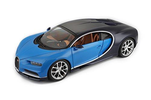 Bburago 15611040X - 1:18 Plus Bugatti Chiron voertuig, op kleur gesorteerd