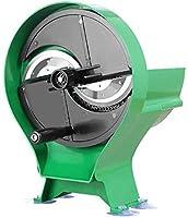多機能野菜スライサー、野菜カッタースライサー、大径ダブルスロット、調整可能なスライス厚/緑