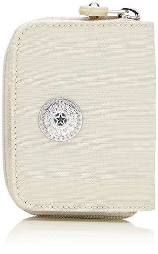 Kipling Tops - Portafogli Donna, Bianco (Dazz White)