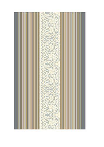 Bassetti Italiana In Algeri Strandtuch, Baumwolle, G1 Grau, 90 x 180 cm