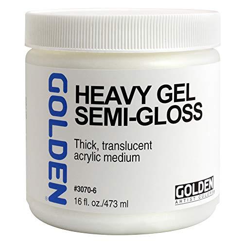 Goldene 0003070-6 16 Unzen - 473ml - Semi-Gloss Schwere Gel - Medium