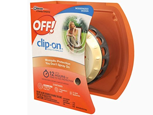 OFF! Clip On Mosquito Repellent Starter Kit ,0.0016 OZ
