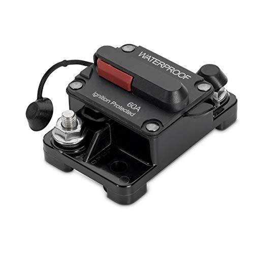 Minn Kota 1865106 MKR-19 Waterproof Circuit Breaker Marine Motor Accessory, 60 Amps