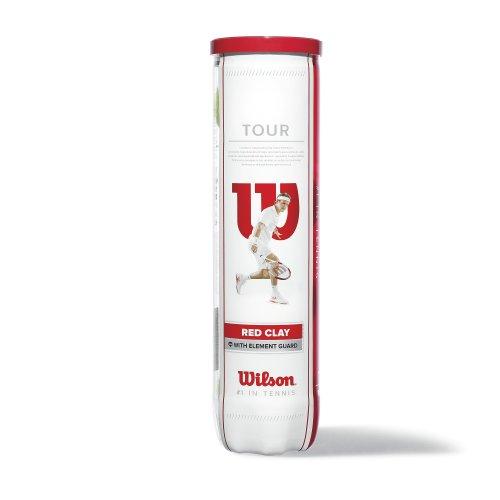 WILSON Wilson Tour Clay Red Tennisbälle