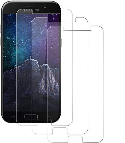 NUOCHENG Protector de Pantalla para Samsung Galaxy A5 2017, [3 Pack] [9H...
