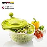 Westmark 2432226A Essoreuse à Salade Fortuna, Vert/Blanc