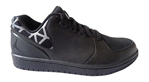 Nike Herren Jordan 1 Flight 3 Low Turnschuhe, Schwarz/Grau (Schwarz/Grau-Schwarz), 40 EU