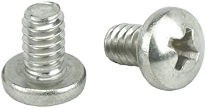 Full Thread Stainless Steel 18-8 Bright Finish #10-24 x 1-1//4 Flat Head Machine Screws Phillips Drive Quantity 100 by Bridge Fasteners Machine Thread