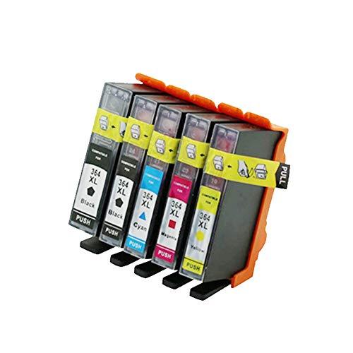 Cartucho de Tinta Compatible 364XL, para Impresora de inyección de Tinta HP C510 C309 C310 HP 7510 6510