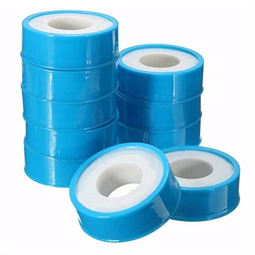 Starke Heavy Duty Packband 0,1 mm × 12 mm × 12 m Temperaturbeständigkeit PTFE Teflonband 10pcs Leicht Seals Ihren Parcels und Boxen