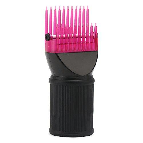 Attachement de peigne seche cheveux, accessoires pour brasseur de concentrateur de buse de concentrateur de buse de concentrateur de pinceau de cheveux de Rose