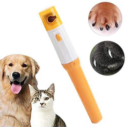 DIDIOI 1 PCS Professional Pet Nagelknipser, elektrischer Hundenagelknipser Cat-Nagel-Schleifer-Nagel-Trimmer Hundepflege Klaue Grinder Schere
