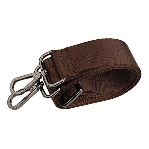 Cinturón Ajustable con Correa de Hombro para Hombre de 32 mm de Ancho para Correas de Repuesto de Bolso (marrón)