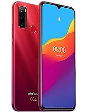 Ulefone NOTE 9P (2020), Android 10 smartphone aanbieding, 6,52 inch mobiele telefoon 16 MP quad-camera, octa-core 4 GB + 64 GB, 3 sleuven voor kaarten, dual-sim, accu 4500 mAh OTG, vingerafdruk