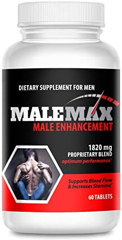 MaleMax Edge Male Enlargement and Enhancement Pills Increase Male Size Up to 3 Inches Fast Performance product image
