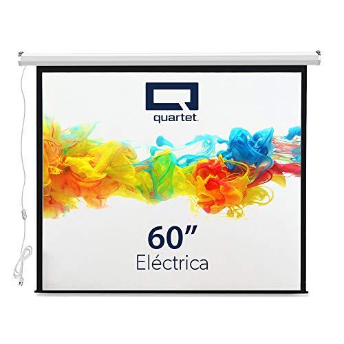 pantalla de proyeccion eléctrica fabricante Quartet