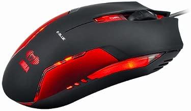 Red E-3lue E-Blue Cobra II 1600DPI High Precision Gaming LED Mouse (Bigger scroll wheel)
