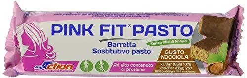 ProAction Pink Fit Pasto (nocciola, confezione da 20 barrette da 65 g)