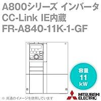 三菱電機(MITSUBISHI) FR-A840-11K-1-GF CC-Link IE内蔵インバータ 三相400V (容量:11kW) (FMタイプ) NN