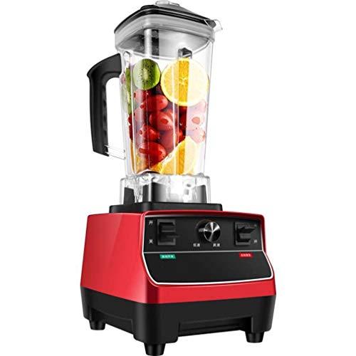 QREZ Professional Countertop Blender, Blenders for Kitchen Food Processor Kitchen Blender Food Mixer 2000W Smoothie Maker 2000Ml Multifunctional Blender for Smoothies And Milkshakes,Red
