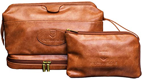 Protravelone Travel Toiletry Bag - Perfect Toiletry Bag for Men -...