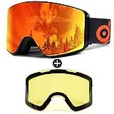 Die besten Skibrilles - Odoland Skibrille für Damen und Herren Jungen Ski Bewertungen