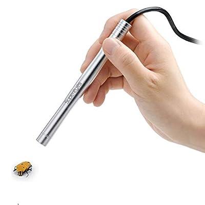 Supereyes USB Pocket Digital Microscope Camera   200X Zoom   Portable Inspection Microscope   Handheld Kids Microscope