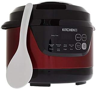 Kitchen HQ 2-Quart Digital Pressure Cooker - Red