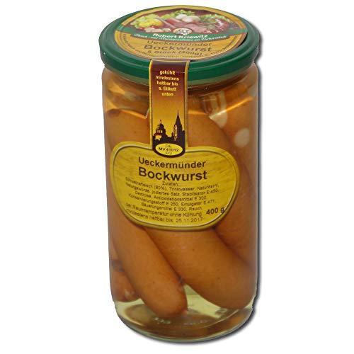 Bockwurst im Glas - Fleischerei Robert Kriewitz | 400g
