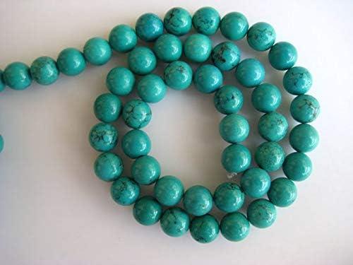 GemAbyss Oklahoma City Mall Beads Gemstone Turquoise Hole Large 8mm Superior