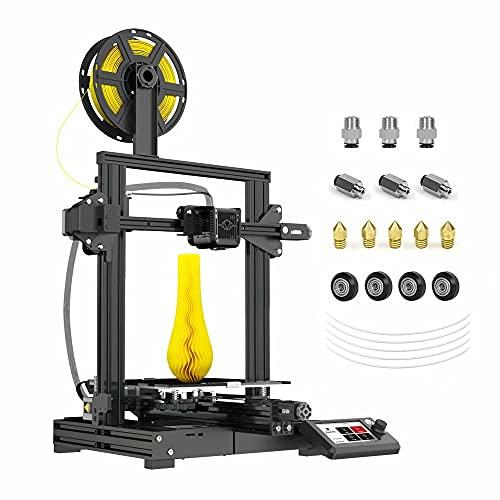 Voxelab Aquila-M 3D Printer,Fully Metal Frame,DIY FDM 3D Printer Kit with Removable Carborundum...