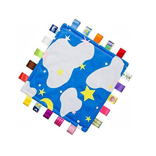 G-arbre coloré Couverture de sécurité pour bébé doux en peluche Touch (pas de dommages à la peau de bébé) Sommeil Helper, Apaisez serviette pour les enfants et tout-petits