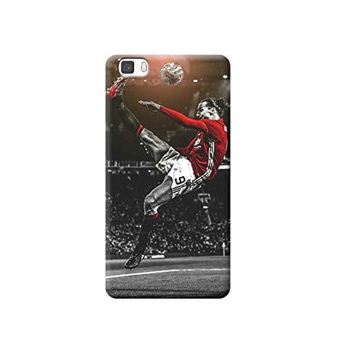 TheBigStock Cover Custodia per Huawei P20 P10 P9 P8 Lite Smart Plus 2015 2017 Morbida TPU - H03 Ibrahimovic rovesciata, P9 Plus
