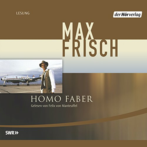 Homo Faber audiobook cover art