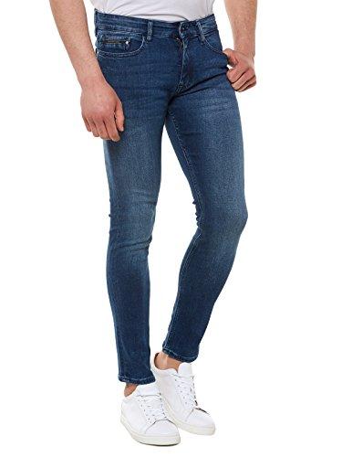 Calvin Klein Jeans Skinny - True Mid Blue, Uomo, Blu (True Blue), W30/L32 (Taglia Produttore: 3230)