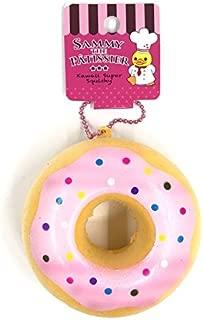 Sammy Donut Squishy Slow Rising Kawaii Pink Squishies Kid Gift Toys