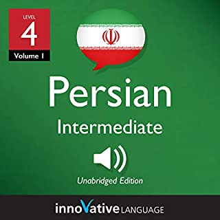 Learn Persian - Level 4: Intermediate Persian, Volume 1 cover art