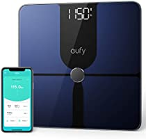eufy Smart Scale P1, slimme personenweegschaal, lichaamsvetweegschaal, bluetooth, groot led-display, 14 meetwaarden,...