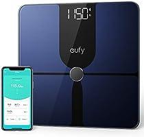 eufy Smart Scale P1, slimme personenweegschaal met Bluetooth, groot led-display, 14 meetwaarden, meet...