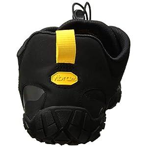 Vibram Men's V 2.0 Trail Running Shoe, Black/Yellow, 40 D EU (40 EU/8.0-8.5 M US D EU US)