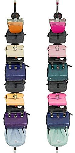 Bag-Organizer Rack-Purse Handbag-Hanger Holder-Storage Over The Door Closet