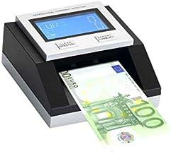 YATEK Rilevatore di Banconote False EC500 con Batteria Inclusa e Lampada UV per rilevare assegni e Carte di Credito Pronto per Tutte Le Nuove Banconote in Euro