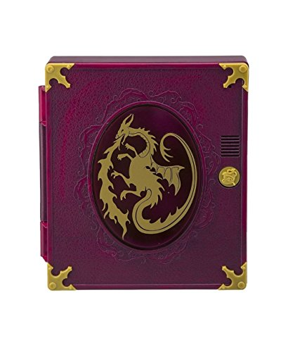 Disney Descendants Password Protected SpellBook Journal - Magic Pen, Stencil, Journaling Pad - Secret Messages, Invisible Ink, Magical Designs - Phrases from Favorite Characters like Mal